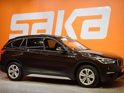 käytetty BMW X1 F48 xDrive20d A Business xLine ### NORMAL FRIDAY -hinta! ### * Adapt.cruise / Panorama / Muisti / Na