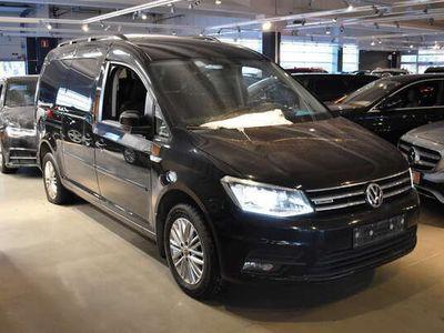 käytetty VW Caddy Maxi Highline 1,4 TGI 81kW DSG maakaasu/bens. ** 7-paik. / Kaasu / Front Assist / ALV / Xenon / P. tutka **