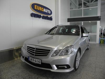 käytetty Mercedes E350 CDI BE T 4Matic A AMG Styling Avantgarde, NAHAT, PANORAMA, PERUUTUSKAMERA, NAVI, BLUETOOTH, CRUISE, KAHDET RENKAAT