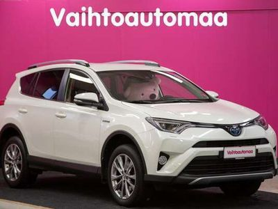 käytetty Toyota RAV4 2,5 Hybrid AWD Premium #Huippuvarusteet #Kaistavahti #Kamera #Adaptiivinen vakkari #Nahat