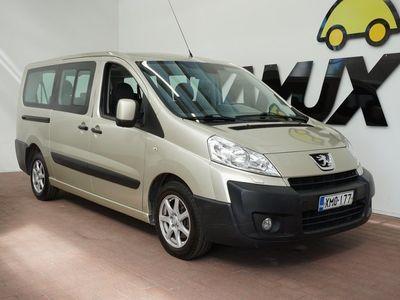 käytetty Peugeot Expert Tepee Premium L2 HDI 136 FAP / Suomi-auto / 9-Paikkainen / Vakkari /