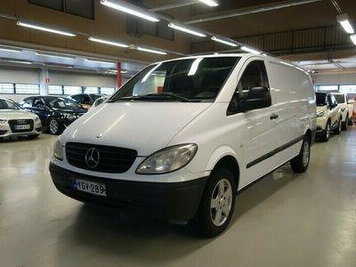 käytetty Mercedes Vito Trend 109CDI-2,7/32K normaali A1*Vaneroinnit/ Vetokoukku*