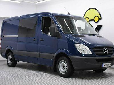 käytetty Mercedes Sprinter 218CDI 3,0 / ALV-vähennykelpoinen / Polttoaine-lämmitin puhelinohjauksella / Huippu siisti! /