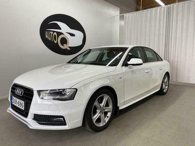 käytetty Audi A4 Sedan Business 1.8 TFSI 125 kW S-line. 1-omistaja. Sporttipenkit. Led,Aux, P-tutka. Kats 1/2023.