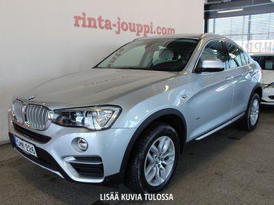 käytetty BMW X4 F26 xDrive20d A Business xLine - Tähän autoon tarjolla Automessu-tarjouksia!