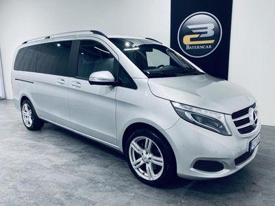 käytetty Mercedes V220 CDI 7-PAIK. 7G TRONIC **LED ILS, NAVI, KAISTAVAHTI & KORKO 0,5%**