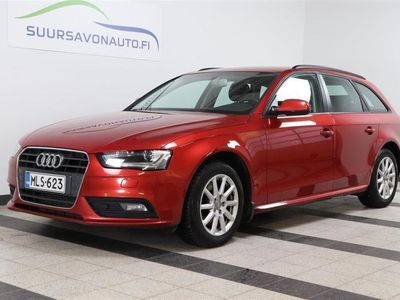 käytetty Audi A4 Avant Business 2,0 TDI 110 kW multitronic ** XENON / SUOMI-AUTO / VETOKOUKKU **