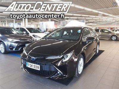 käytetty Toyota Corolla Touring Sports 1,8 Hybrid Active #Sähkötoiminen takaluukku #Älyavain #Bi-LED ajovalot ym.