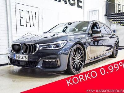 käytetty BMW 740 740 G12Le iPerformance xDrive M-SPORT LASER, B&W, KATTOIKKUNAT, COMF-PENKIT, TEHDASTAKUU, DISPLAYKE