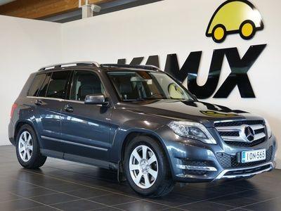 käytetty Mercedes GLK220 GLKCDI 4MATIC / Webasto / Navi / Koukku / Nahkasisusta