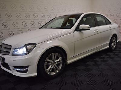 käytetty Mercedes C180 BE Premium Business 1,6 **** LänsiAuto Safe -sopimus hintaan 590EUR. ****