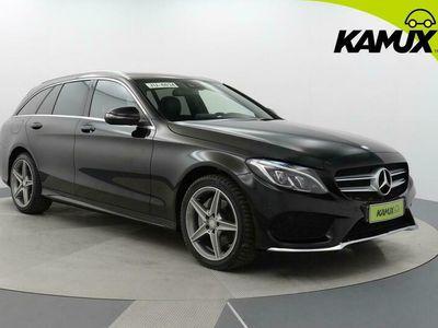 käytetty Mercedes C220 d T A Business AMG / Tulossa myyntiin / Navigointi / Peruutuskamera / BLIS / Liikennemerkkien tu