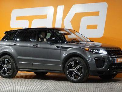 käytetty Land Rover Range Rover evoque 2,0 TD4 180 Aut HSE Dynamic ** 1 omistaja / Alvillinen / Merkkihuollettu / Muistipenkit / Meridian /