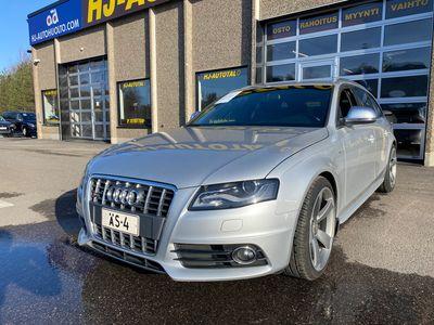 """käytetty Audi S4 3.0 V6 TFSi 333 HV QUATTRO AVANT 6-VAIHTEINEN LED/XENON NAHKA/ALCANTARA SPORTPENKIT WEBASTO 19""""ALUT"""