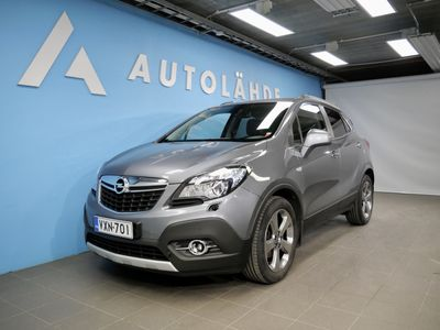 käytetty Opel Mokka 5-ov Cosmo 1,4 Turbo 103 *Hyvät varusteet* KORKO: 2.95% + Kasko -30%!