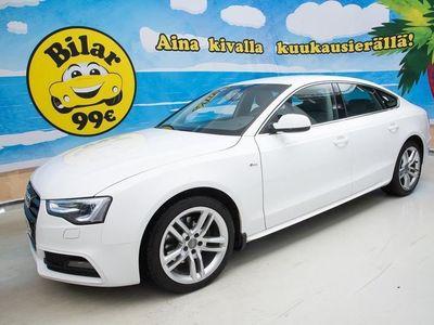käytetty Audi A5 Sportback Business Sport 1,8 TFSI 125 kW multitronic-autom. *S-Line / Webasto / Nahka-alcantara / Xe