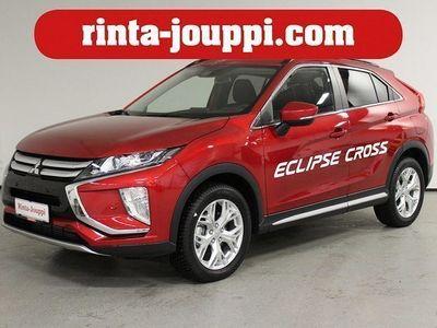 käytetty Mitsubishi Eclipse Cross 1,5 MIVEC Intense CVT 4WD - Näyttävällä värillä uusi Eclipse Cross! HUD / Kaistavahti / rattilämppär