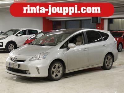 käytetty Toyota Prius HSD Premium 5ov LE - Huippuvarusteltu! Nahkaverhoilu, Peruutuskamera, Navigointi yms.