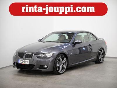 käytetty BMW 335 Cabriolet i A E93 /// M-sport / - M-Sport, Xenon, Hifi, Nahkasisusta, Juuri huollettu, Keyless, Käsirah