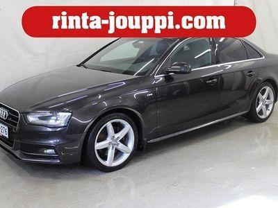 käytetty Audi A4 Sedan TDI Edition 2,0 TDI clean diesel 140 kW quattro S tronic - Suomiauto, Webasto, S-line