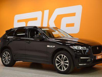 käytetty Jaguar F-Pace 20d AWD Aut R-Sport ** Kamera / Navi / Nahkasisusta / Kaistavahti / Sähköistuimet **