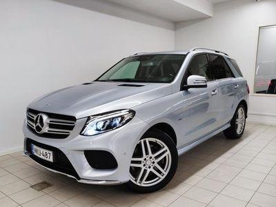 käytetty Mercedes GLE500 e 4Matic, AMG-line, Harman Kardon, LED ILS, Nahat, Tutkat