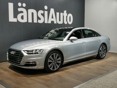käytetty Audi A8 50 TDI quattro tiptronic-autom. // Seisontalämmitys, B&O, Kattoluukku, Huippuvarusteet // **** BLACK FRIDAY: Täh...