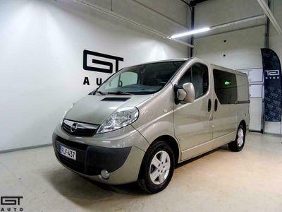 käytetty Opel Vivaro Van Edition L1H1 2,0 CDTI ecoFLEX 84 A, 2xAlut, Ilmastointi, Eberi, Cruise, Navi, Pariovet, 2xLiukuovet, Huoltokrj.