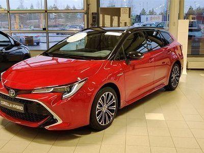 käytetty Toyota Corolla Touring Sports 1,8 Hybrid Style **Plus&Black-paketeilla**