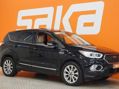 käytetty Ford Kuga 2,0TDCi 150 hv PowerShift AWD Vignale 5-ovinen ** Webasto / Panorama / Koukku / Adapt.cruise / P-kam