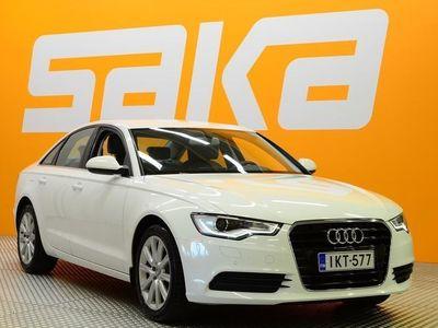 käytetty Audi A6 Sedan Business 2,0 TFSI 132 kW multitronic ** 2-om. Suomiauto / Merkkihuollot / Xenon / Tutkat / Ava