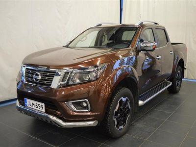 käytetty Nissan Navara Double Cab 2,3 dCi 190hp AT Tekna Ltd Sunroof, leather, 2 seats / SIS ALV:n
