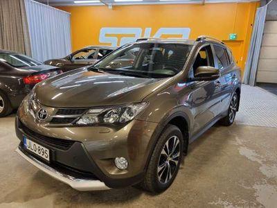 käytetty Toyota RAV4 2,0 Valvematic AWD Luxury Plus Multidrive S ** Nahkasisusta / Navi / Keyless / Vakkari **