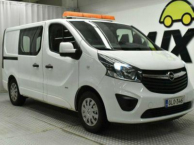 käytetty Opel Vivaro Van Edition L1H1 1,6 CDTI Bi Turbo ecoFLEX 88kW MT6 / ALV / Eber / Navi / Bt Audio / Koukku / Vaneroinnit /