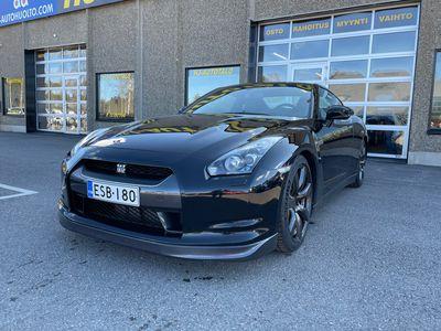 käytetty Nissan GT-R BLACK EDITION 3.8 V6 485 HV NELIVETO AUTOMAATTI NAHKASISUSTUS XENON BREMBO 20 ALUT SUOMI-AUTO