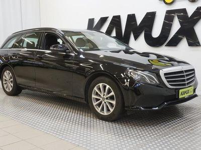 käytetty Mercedes E200 T A Business **LED-AJOVALOT, VETOKOUKKU, SÄHKÖTAKALUUKKU, VÄHÄN AJETTU!!**