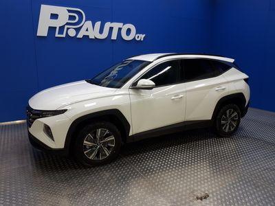 käytetty Hyundai Tucson 1,6 T-GDI 230 hv Hybrid 6AT Style MY21 - Korko 0,99%*, 72 kk ilman käsirahaa!! 1000 €:sta S-bonuskirjaus! 2xrenkaat! - Upea uutuus malli!