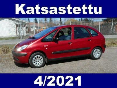 käytetty Citroën Xsara Picasso 1,6i 16v SX !! KATS. 4/2021 - TILAVA KÄYTTÖAUTO EDULLISEEN HINTAAN !!