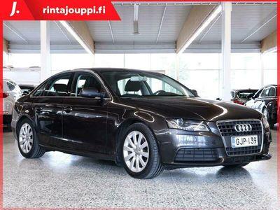 käytetty Audi A4 Sedan 2,0 TDI DPF (100 kW) Le Mans / Irrott. vetokoukku / 2 x alut / Moottorilämmitin *** J. kotiin