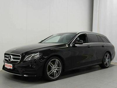 käytetty Mercedes E220 T A Amg Line - AMG sisä- ja ulkopaketti, Tutkat, Kamera, Ambient light, Vakkari, Sähkö takaluu