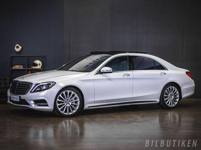 käytetty Mercedes S500 Plug-in Hybrid L Amg sport plus, Panorama, Burmester, Rahoituskorkotarjous alkaen 0,89% 31.3 asti!