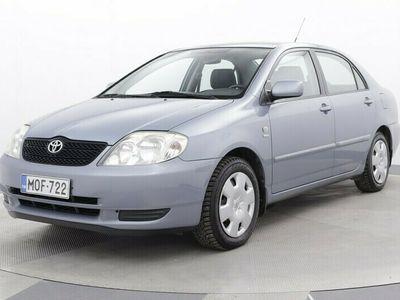 käytetty Toyota Corolla 1,6 VVT-i Linea Terra 4ov - #ilmastointi#koukku#siisti#alut#lohkoläm#KYSYTOMMIA0405524633#