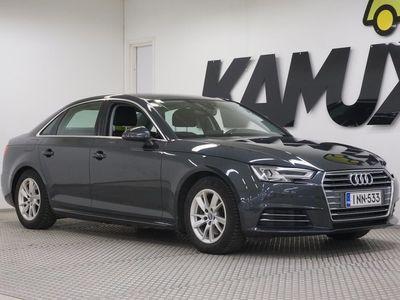 käytetty Audi A4 Sedan Business Sport 2,0 TFSI 140 kW S tronic # SUOMI-auto # 1-Omistaja # Sporttipenkit # Koukku # Cruise #