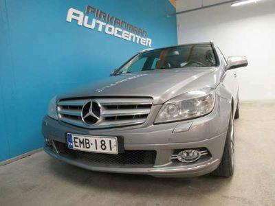käytetty Mercedes C220 CDI 170hv Aut. Avantgarde Farmari *NAHKASISUSTA*KATTOLUUKKU*VETOKOUKKU*