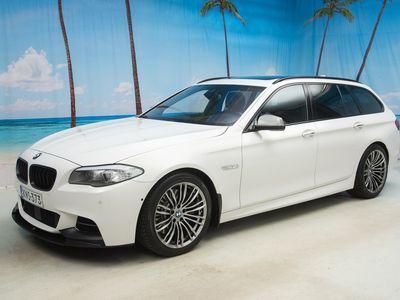 käytetty BMW M550 550 F11 Touring d Sport A xDrive - VARUSTELTU YKSILÖ!