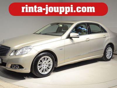 käytetty Mercedes E220 CDI BE A Elegance - Samalla omistajalla vuodesta 2010, vähän ajettu yksilö!