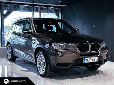 käytetty BMW X3 KORKO 0,99% / xDrive20d TwinPower A / Rahoitus / Vaihto