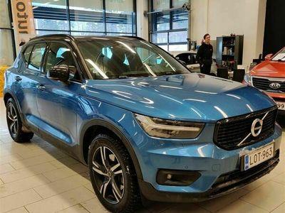 käytetty Volvo XC40 D4 AWD R-Design aut #Neliveto #TechnicPro #Webasto #VOC #PilotAssist #Panorama #Navi #Blis