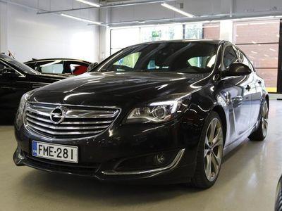 käytetty Opel Insignia Sport 2,0 CDTI BiTurbo 143kW ** OPC-line / Webasto / Sporttinahkat / Navi / P. tutkat **