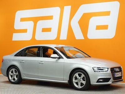käytetty Audi A4 Sedan Business Alpine Pro 2,0 TDI 130 kW quattro S tronic ** Juuri tullut / Nahka-alcantara / Sportt